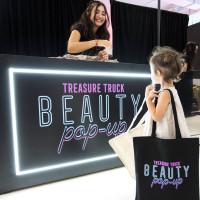 Amazon's Treasure Truck Electric Beauty Pop-up Tour