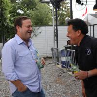 Levi Goode and Hugo Ortega