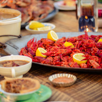 Crawfish platter