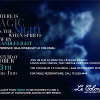 Le Colonial's Annual Halloween Fete