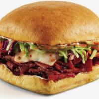 Drive-Thru Gourmet - Nashville Hot Brisket Sandwich