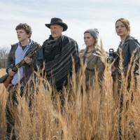 Jesse Eisenberg, Woody Harrelson, Abigail Breslin, and Emma Stone in Zombieland: Double Tap