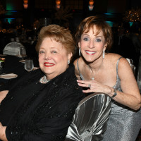 Past Seven Acres President Judy Yambra (right)