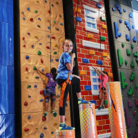 Urban Air Adventure Park climbing walls