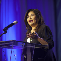 Clarice Tinsley at Girl Scout Women of Distinction Luncheon