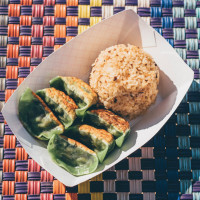 Dumpling Haus dumplings with rice