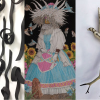 Heather Gorham, Win Wallace and Marla Ziegler Artists Reception