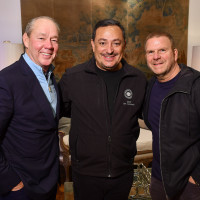 True Blue Gala 2019 Jim Crane, Houston Police Chief Art Acevedo, and Tilman Fertitta