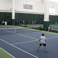 Lifetime Fitness Indoor Tennis Court