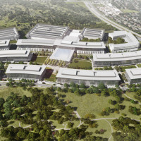 Apple North Austin campus rendering
