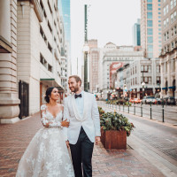 Real Weddings Houston 2019 Justin Makris Nathalie Drew