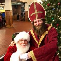 Santa at Saint Arnold