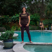 Orolait mother swimwear line Houston
