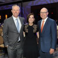 Holocaust Museum Houston Astros Foundation Houston Astros Business Adviser Reid Ryan, Luncheon Chairs Patti and Mike Morgan