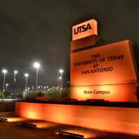 University of Texas at San antonio sign UTSA