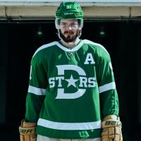 Tyler Seguin in Dallas Stars Winters Classic jersey