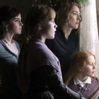 Emma Watson, Florence Pugh, Saoirse Ronan, and Eliza Scanlen in Little Women
