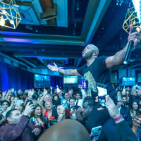 Altus Gala 2019 Flo Rida crowd