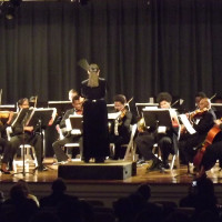 Scott Joplin Chamber Orchestra with conductor Dr. Anne Lundy