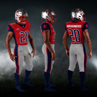 Houston Roughnecks uniforms XFL Ken Hoffman
