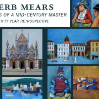 """Herb Mears: Memoirs of a Mid-century Master—A Fifty Year Retrospective"" opening reception"