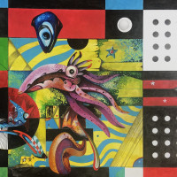 "Paul Tate: ""Three Ring Circus"" opening reception"