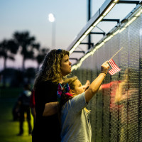 The Wall That Heals: Vietnam Veterans Memorial