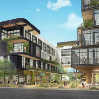 Montrose Collective mixed-use development rendering