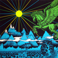 Glow: Vintage Blacklight Posters from the 60s and 70s