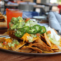 Woodshed Smokehouse Tim Love nachos