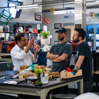Rice University Design Kitchen Apollo BVM team automated bvm