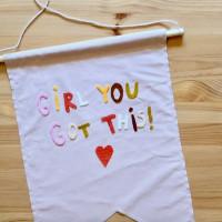 Ruby City Positivity Banner DIY