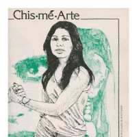 """MFAH Sybil Venegas, """"Conditions for Producing Chicana Art,"""" Chismearte, 1977"""