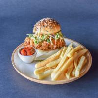 Alamo Drafthouse chicken sandwich fries