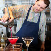 Trevisio, sommelier, mixologist Sean Beck, bar, drinks