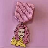 Ruby City Dolly Parton Fiesta Medal