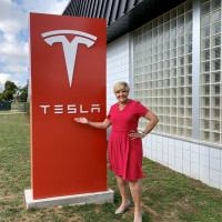 Fort Worth Mayor Betsy Price, Tesla