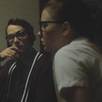 Jake Horowitz and Sierra McCormick in The Vast of Night
