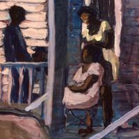 "Redbud Gallery presents Ryan Baptiste: ""The Light Beyond The Blight"""
