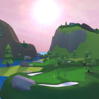 TopGolf virtual reality game