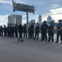 Austin protests saturday apd 1-35
