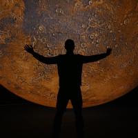 Mars by Luke Jerram