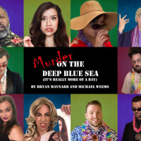 Cone Man Running Productions presents Murder on the Deep Blue Sea (It's Really More of a Bay)