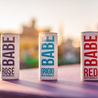 Babe canned wines