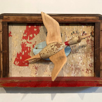 "Redbud Gallery presents Ken Luce: ""Artifacts of the Voyage: 1985-1995"""