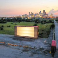 Moonstruck Drive-In at East River