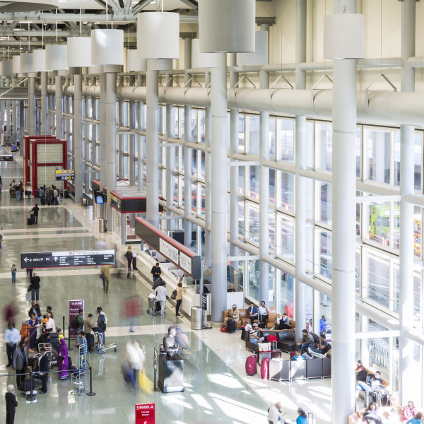Houston airport flies high as one of world's best for on-time travel