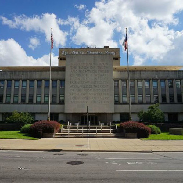 Dallas Morning News building bought by Highland Park Village owner