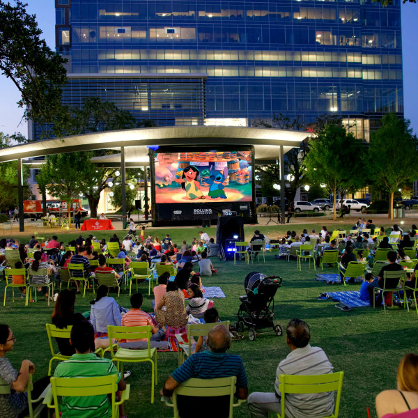 14 best Houston-area spots showcasing summer movies under the stars