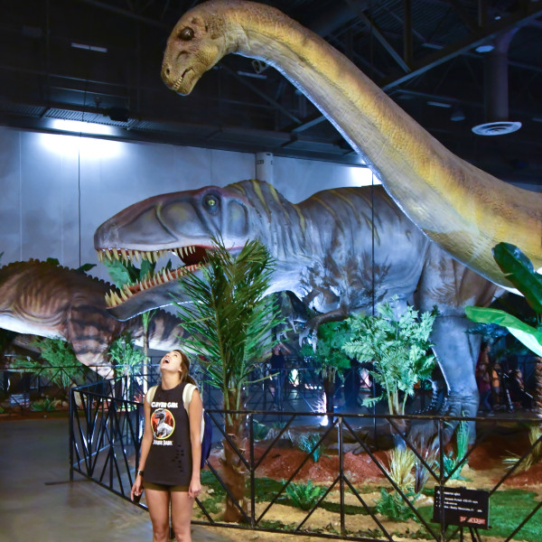 Mammoth and immersive dinosaur experience roars into NRG Park